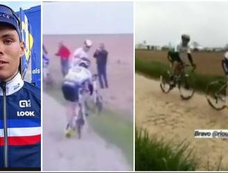 Debutant haalt finish Parijs-Roubaix nadat hij 50 kilometer zonder bidon reed, tot hij een Duvel kreeg van Belgische fans