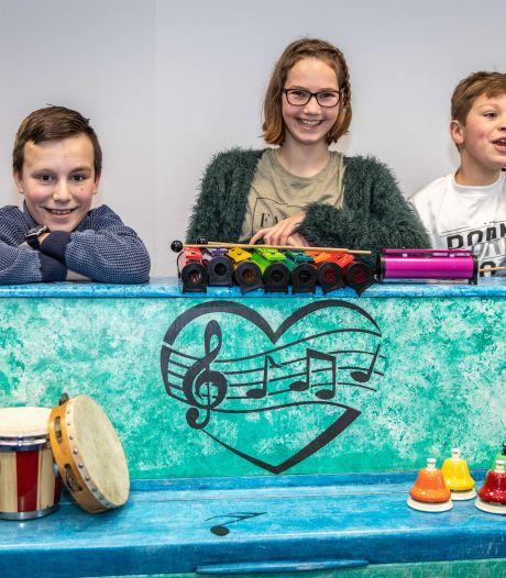 Wil je leren drummen of blazen? Leen een instrument bij het nieuwe Muziekdepot Zeeland