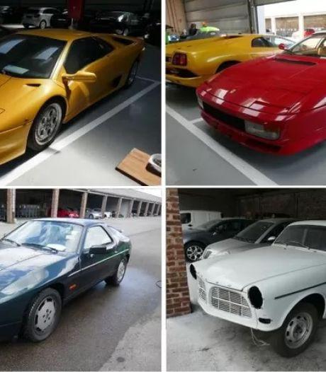 Dix véhicules exceptionnels aux enchères sur le site du SPF Finances, dont une Lamborghini Diablo et une Testarossa
