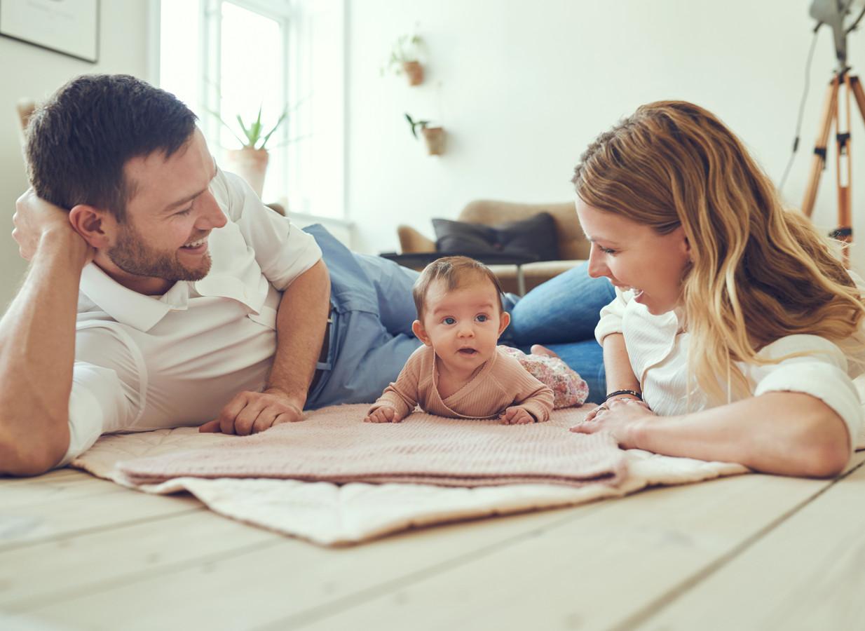 Foto ter illustratie. Verwacht wordt dat niet alle ouders gebruik zullen gaan maken van de nieuwe regeling omtrent het ouderschapsverlof.