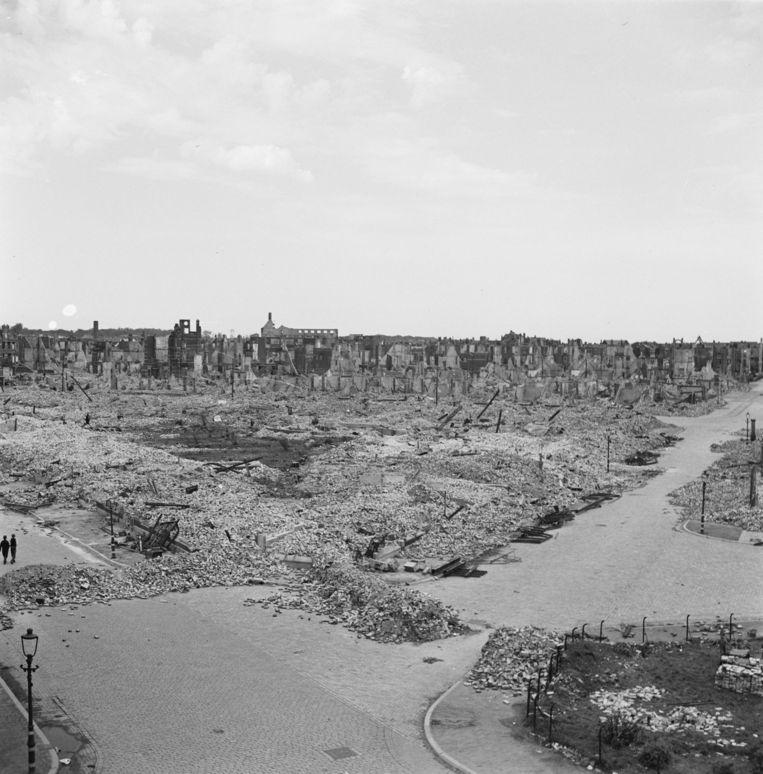 Den Haag, 1945  Beeld Nationaal Archief
