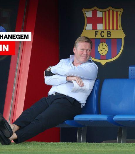 Column Van Hanegem   Als ik Koeman was, was ik al lang weg geweest bij Barça: dan maar geen miljoenen