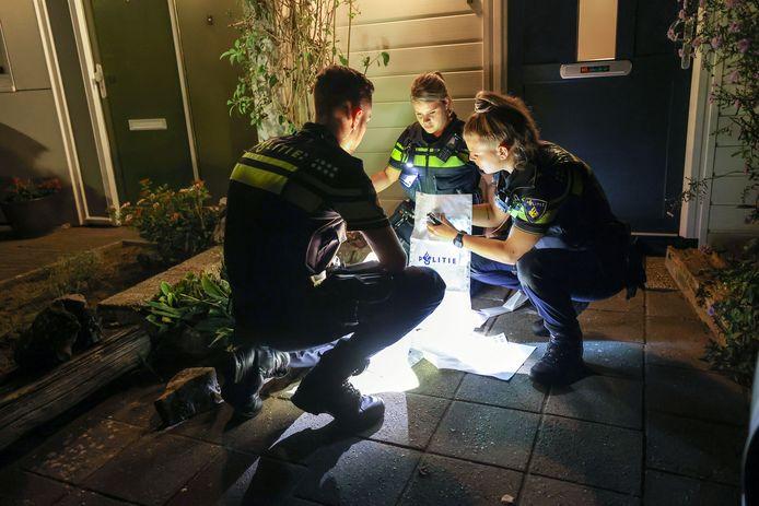 Op de Nijenrode in Eindhoven zijn vrijdagavond bloedsporen ontdekt.