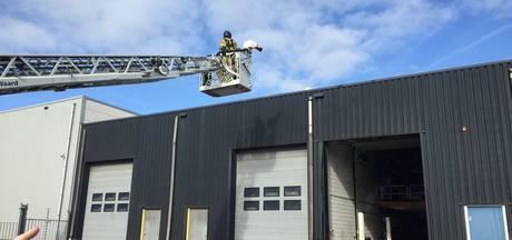 Brand in bedrijsverzamelgebouw Heerjansdam