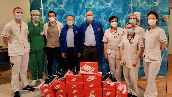 Nieuwe schoenen voor medewerkers Brandwondencentrum UZ