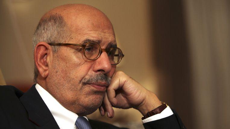 Mohamed ElBaradei. Beeld AP