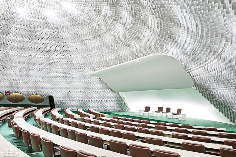 Le Siège du Parti Communiste Français van Oscar Niemeyer. Beeld RV