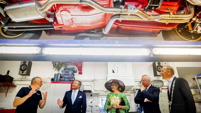 Ook emotioneel tintje aan bezoek koning en koningin aan Deventer: 'Ze straalde 's middags nog'