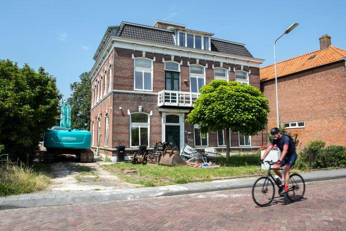 De villa aan de Langeville in Yerseke, waarin gehandicaptenorganisatie Arduin lang huisde.