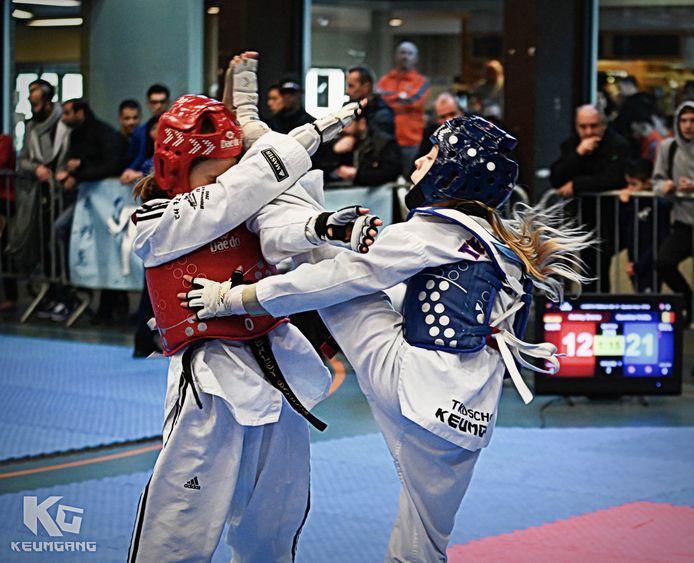 600 taekwondoka's namen deel.