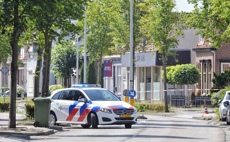 Mogelijk explosieven gevonden voor shisha lounge in Bergen op Zoom.