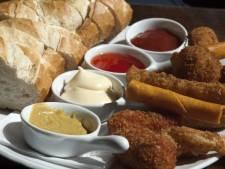 'Snacks zonder vlees - de lékkere dan - gaan enorme vlucht nemen'