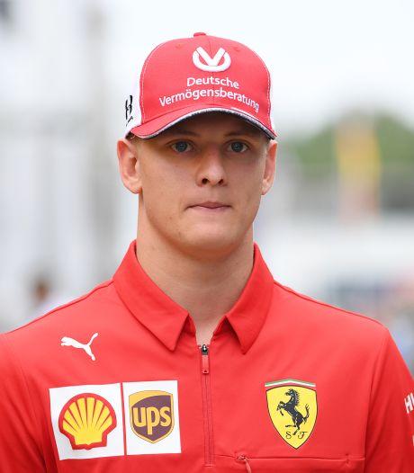 Rookie Schumacher kan niet wachten: 'Het zal heel spannend worden