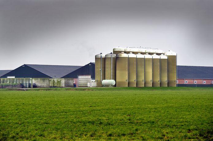 Het mega-varkensbedrijf van Machiel Coppens is een van de varkensbedrijven die op De Elzen in Boekel  zorgen voor veel overlast.