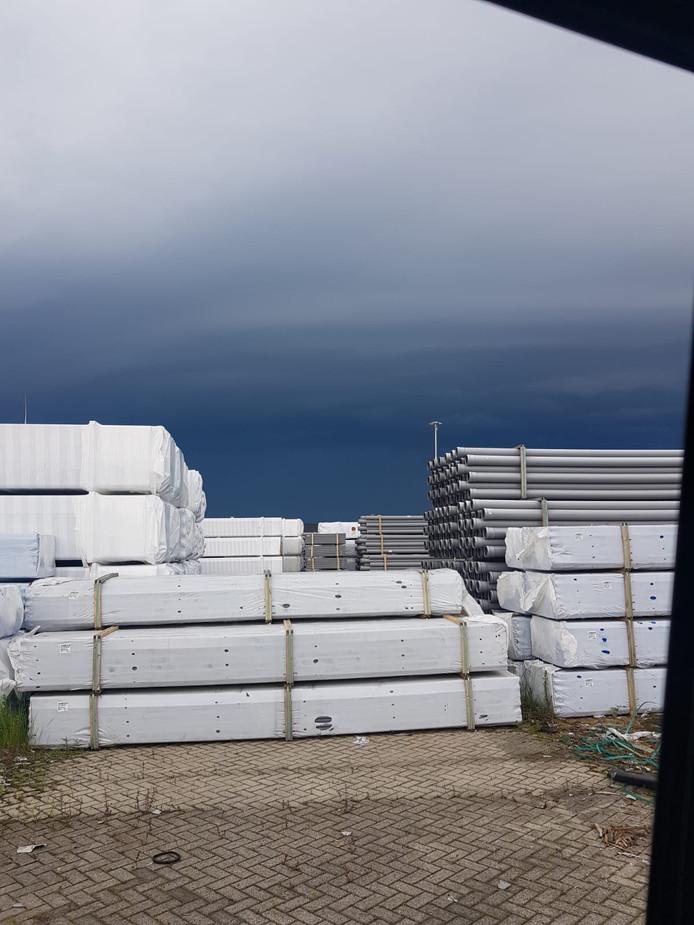 Een onheilspellende lucht in Oosterhout