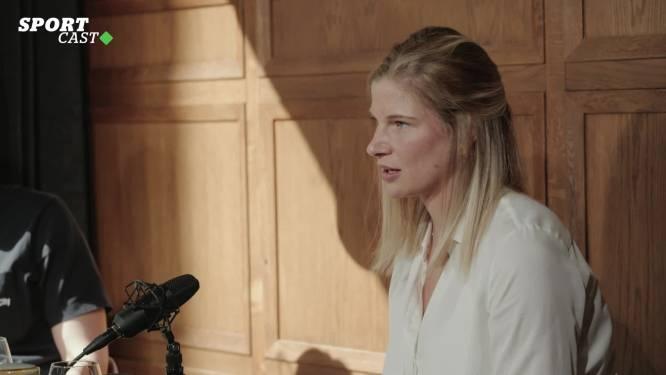 """Red Flame Justine Vanhaevermaet in onze HLN SPORTCAST: """"Ik denk nog niet aan terugkeer naar België"""""""
