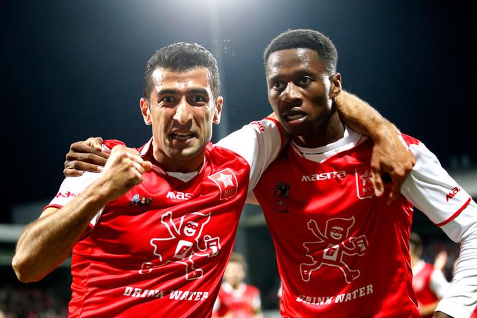 Atilla Yildirim en Jonathan Okita (rechts).