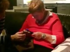 Snel hulp voor slechtziende moeder na facebookfilmpje