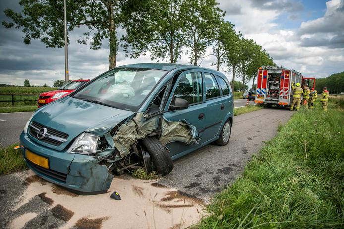 Ongeluk op de N813.