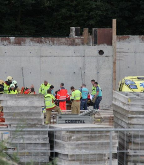 Ernstig ongeval tijdens bouw nieuw zwembad