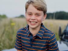 Eerbetoon aan prins Philip op foto van jarige George (8)