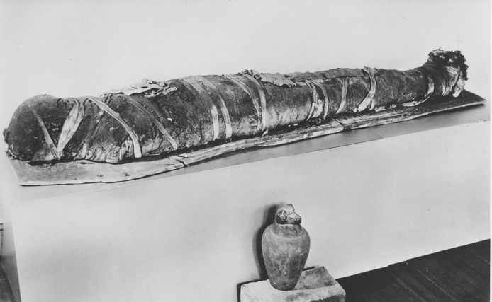 De mummie in Zwolle.