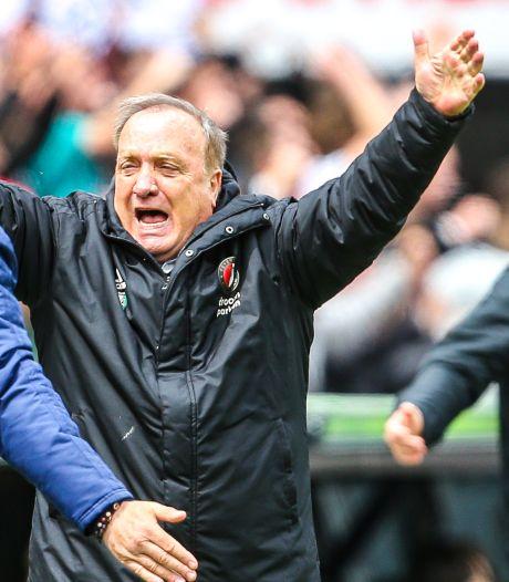 Advocaat krijgt mooi afscheid: Feyenoord verslaat FC Utrecht en gaat Europa in