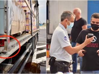 """Politie controleert zwaar vervoer aan grens: """"Lading niet in orde? Da's dan 1.000 euro boete"""""""