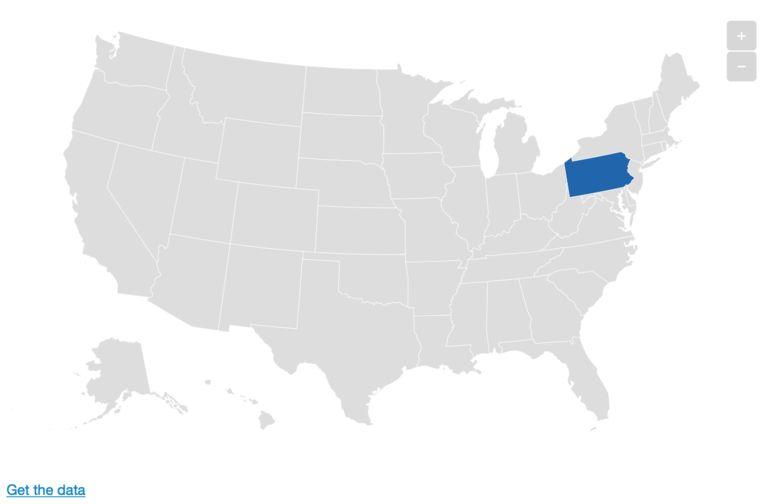 Pennsylvania. Beeld De Morgen