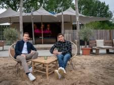 Strand Anders in Huissen dreigt kopje onder te gaan: 'Wij zijn op alles voorbereid'