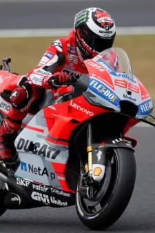 Geblesseerde Lorenzo zegt af voor Grand Prix van Japan