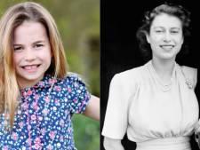 La princesse Charlotte fête ses 6 ans, les internautes frappés par sa ressemblance avec la Reine