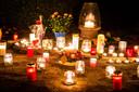 Heel Noorderwijk brandde vrijdagavond een kaarsje voor Mieke Verlinden.