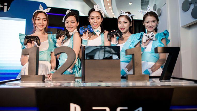 Presentatie van PlayStation 4 in Hongkong. Beeld AFP