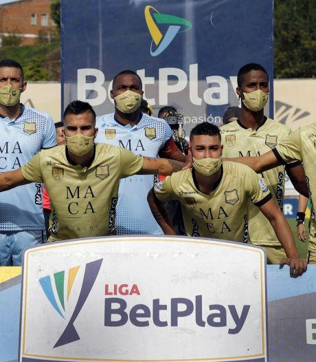 Une équipe colombienne décimée par la Covid-19 contrainte de jouer avec seulement 7 joueurs