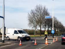 Twee busjes botsen op elkaar bij Lieshout