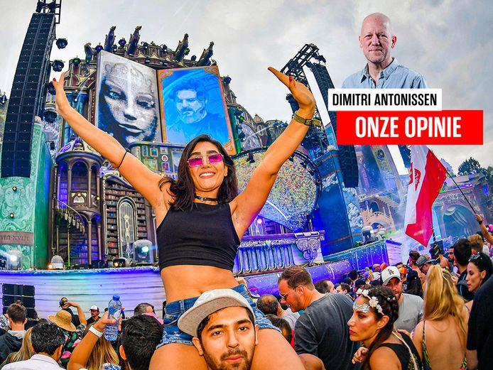 Tomorrowland in volle actie tijdens de editie van 2019