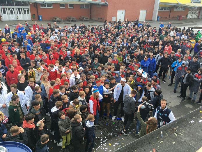 Don Bosco Sint-Denijs-Westrem kreeg als eerste van drie Gentse scholen een bezoek van de jury van de Strafste School.