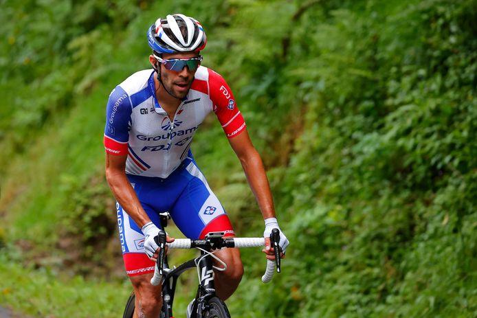 Thibaut Pinot moet noodgedwongen een streep zetten door deelname aan de Giro d'Italia.