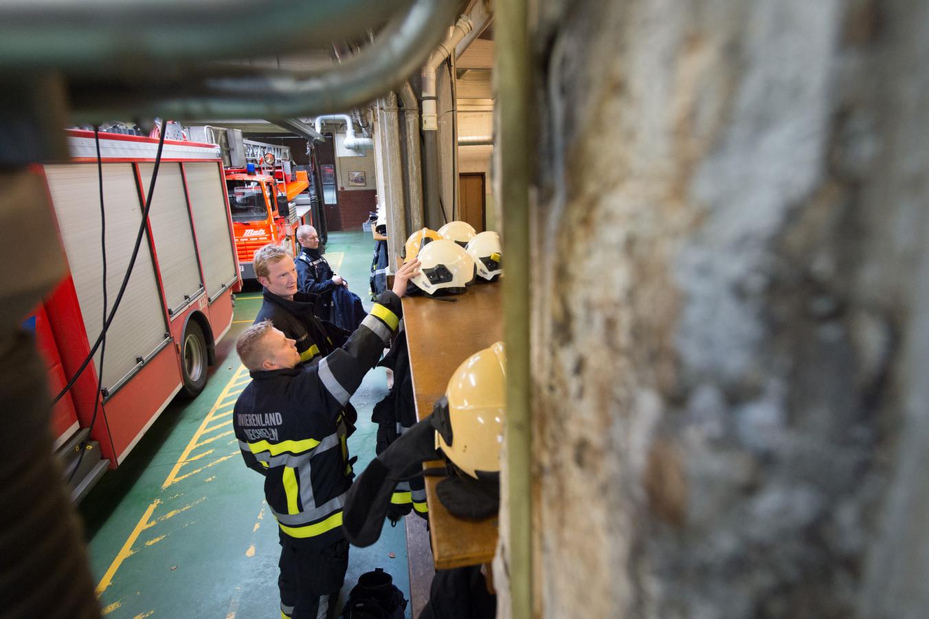 Archiefbeeld van de brandweerkazerne in de Dageraadstraat