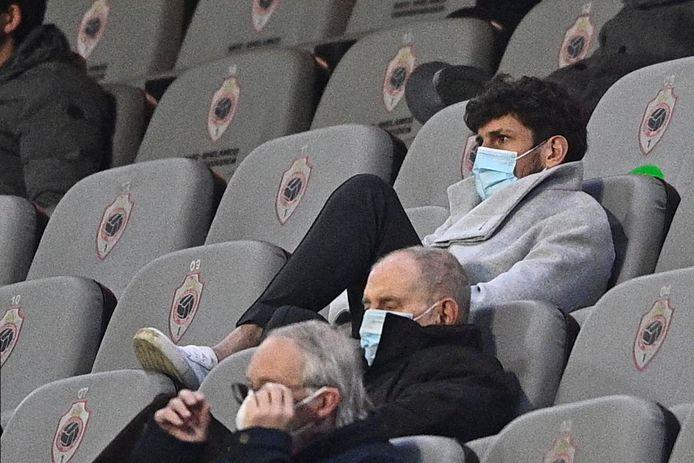 Avenatti zat afgelopen vrijdag al op de tribunes van de Bosuil.
