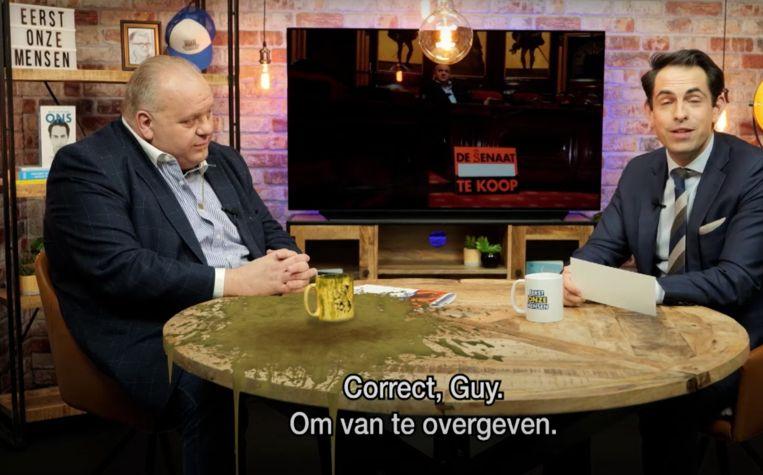 Vlaams Belang TV Beeld Woestijnvis
