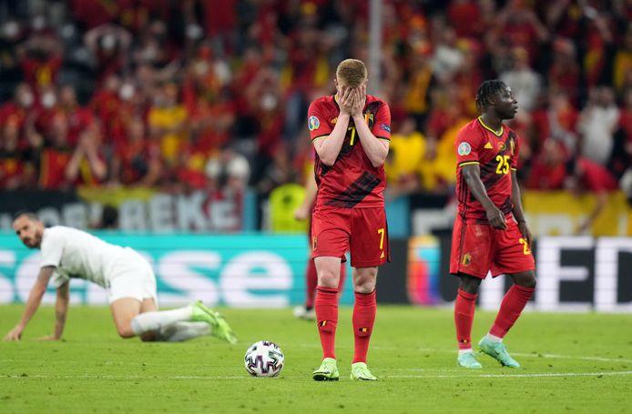 Nouvelle déception pour la génération dorée du football belge, qui quitte l'Euro au stade des quarts de finale.