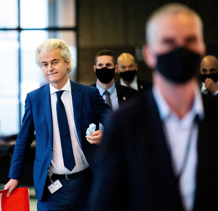In tijden van verkiezingen hamert PVV-leider Geert Wilders puur voor electoraal gewin graag op de ongewenstheid van een dubbele nationaliteit. Beeld Bart Maat/ANP