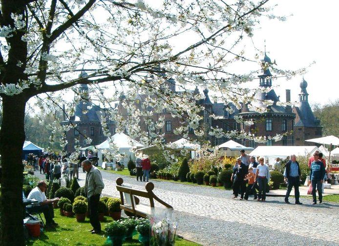 De lifestyle tuinbeurs aan het kasteel van Ooidonk in Leerne.