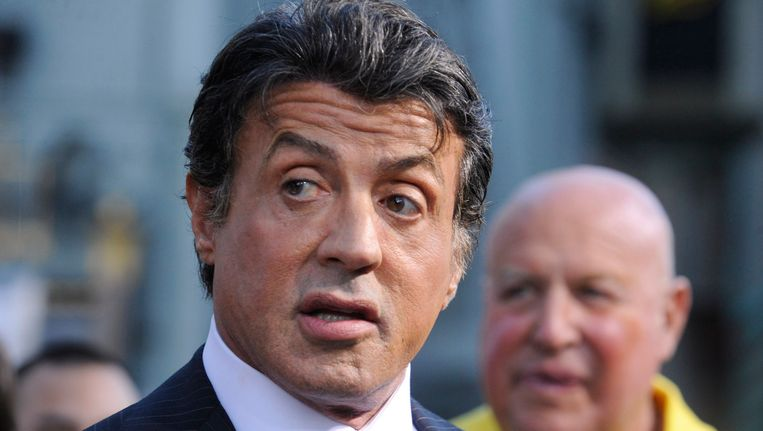 Sylvester Stallone. Beeld reuters