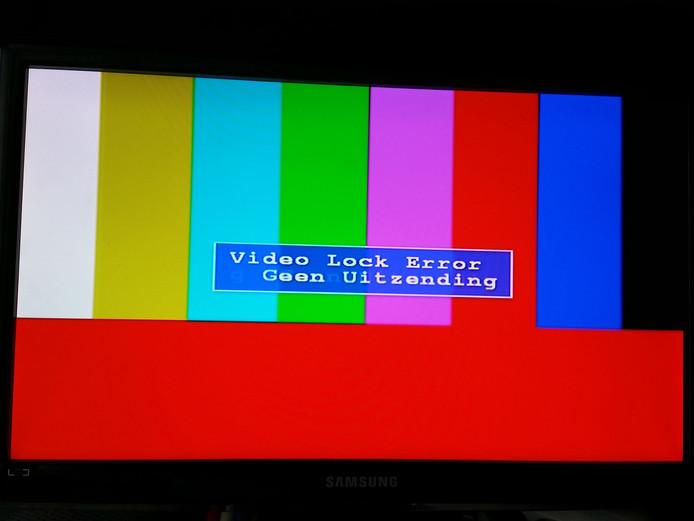 Uitzendserver van LTV gecrasht.