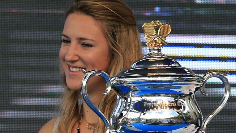 Azarenka probeert haar titel te verlengen in Melbourne. Beeld EPA