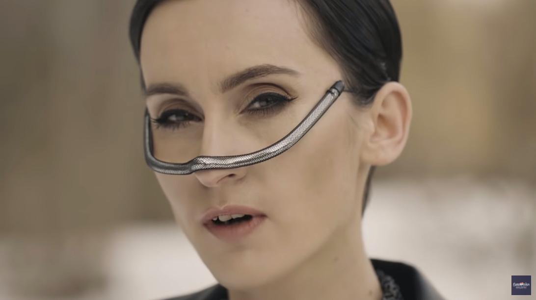 Kateryna Pavlenko van Go_A, die voor Oekraïne deelneemt aan het Songfestival.