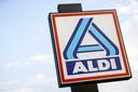 Logo van Aldi.